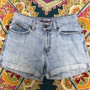 Vintage Mom High-waisted Denim Shorts